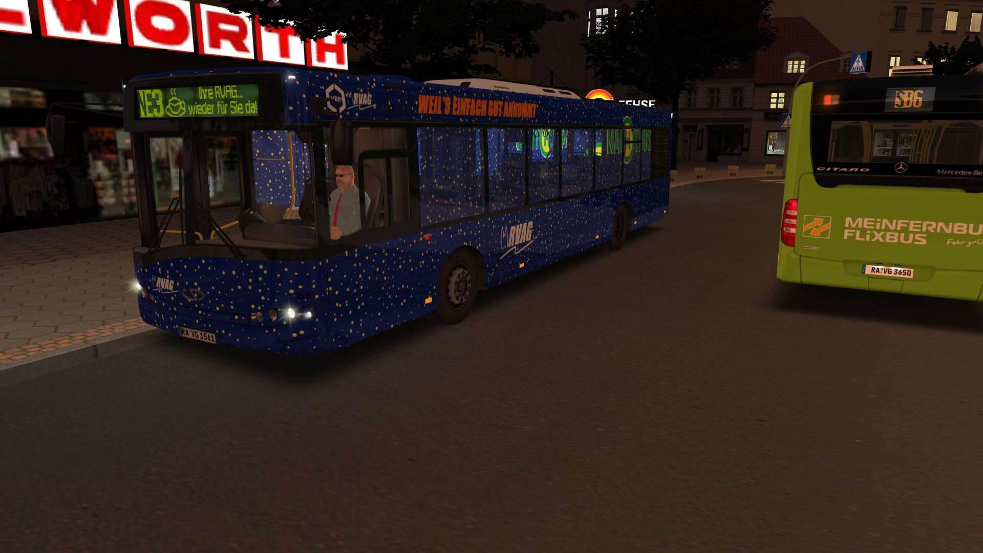 fOcUs04 Repaint-Ecke *NEW* Solaris BVG 12m 2-Doors RVAG